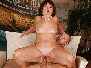 Ugly old slutty and yong fucker