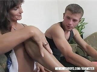 Mama Rewards Two Boys Hard Work With Hot DP Anal Action!!